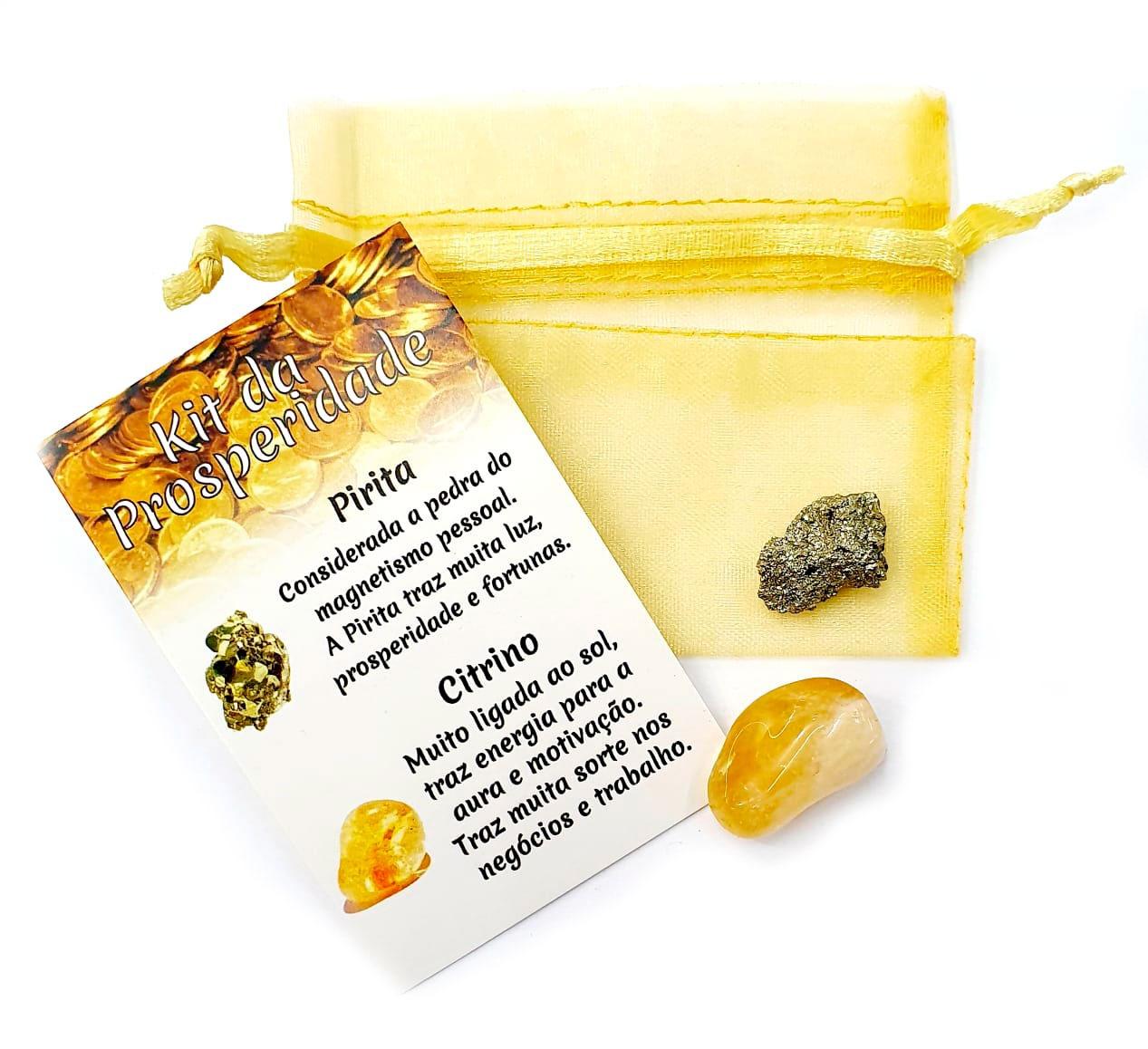 Kit da Prosperidade de Pedras Brasileiras