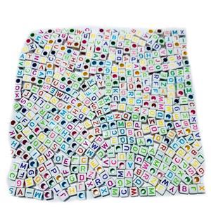 Letrinhas  Quadradas Coloridas