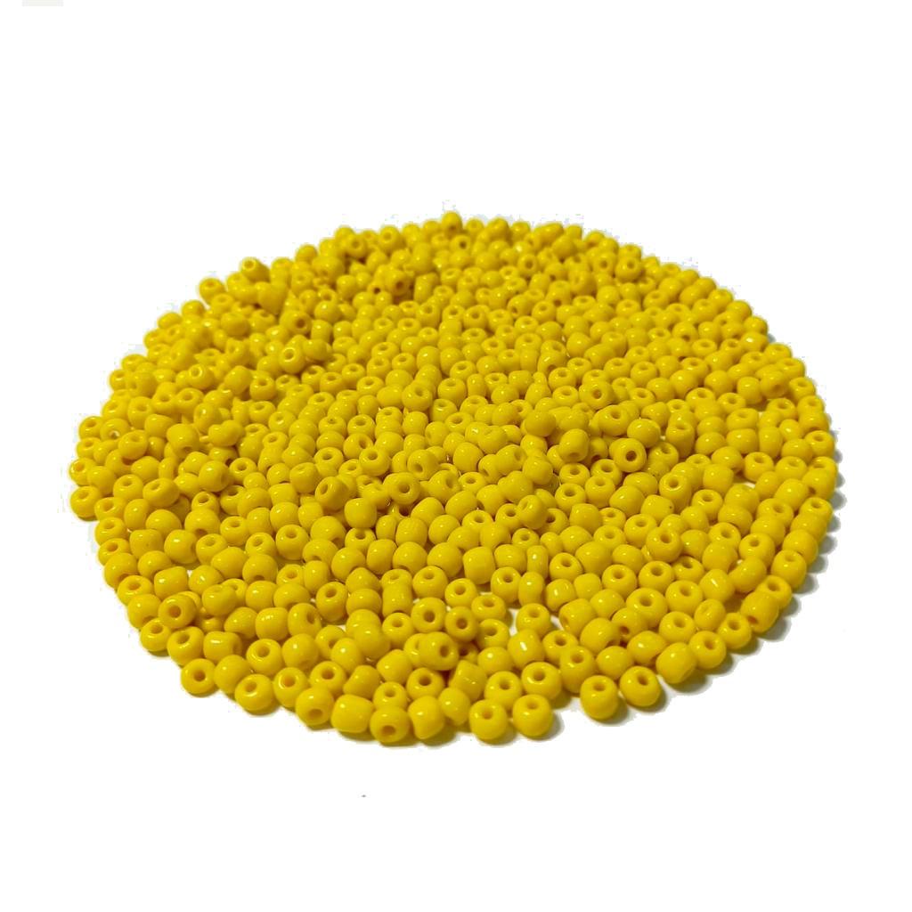 Missanga Chinesa 6/0 Amarelo