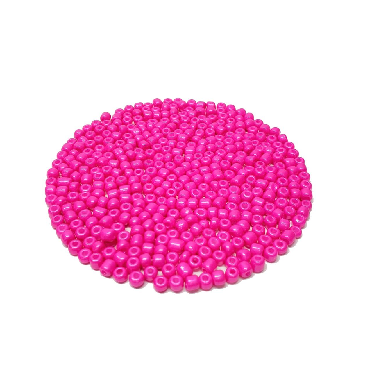Missanga Chinesa 6/0 Pink Perolado