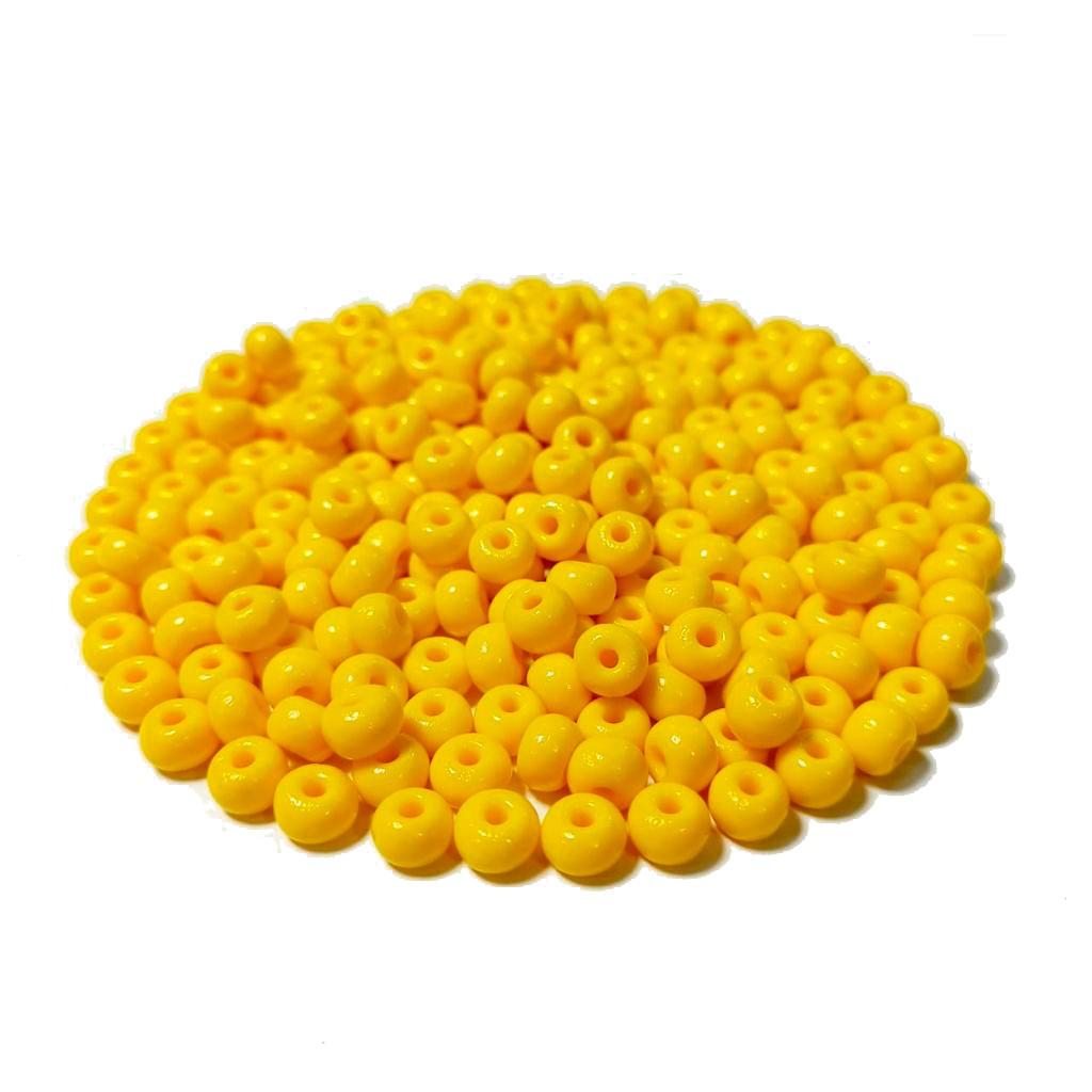 Missanga Jablonex  2/0 Amarela 83130