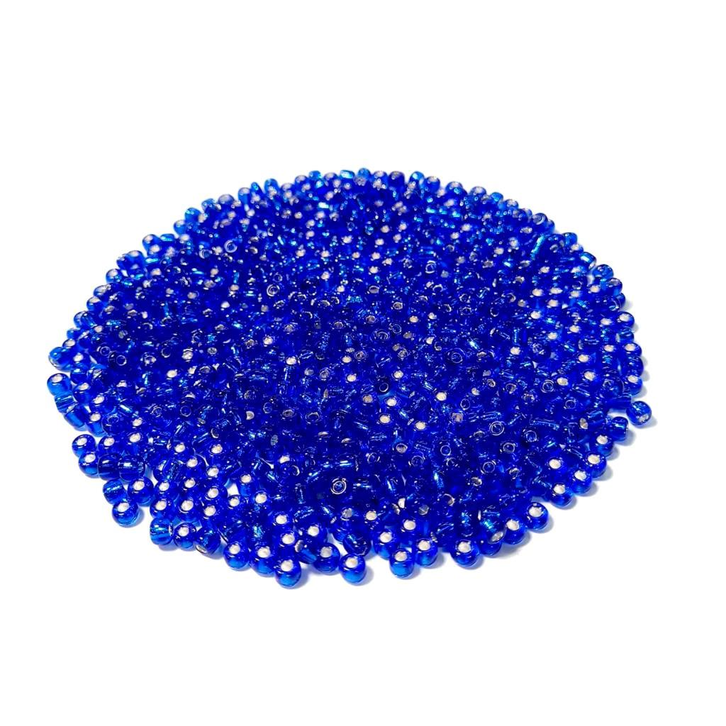 Missanga Jablonex 5/0 Azul Royal Transparente 37050