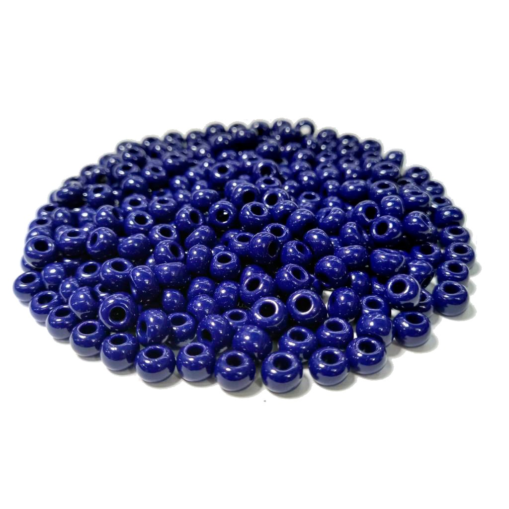 Missanga Jablonex  2/0 Azul Escuro Leitoso 33070