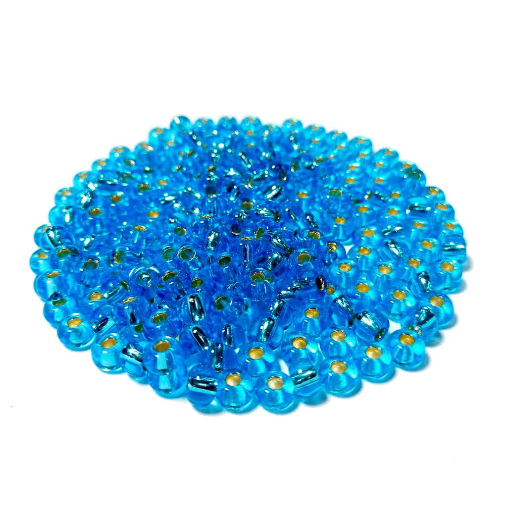 Missanga Jablonex  2/0 Azul Transparente 67010