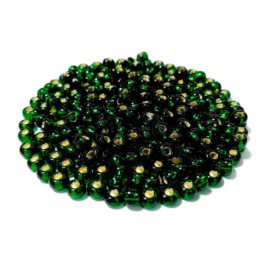 Missanga Jablonex  2/0 Verde Transparente 57060