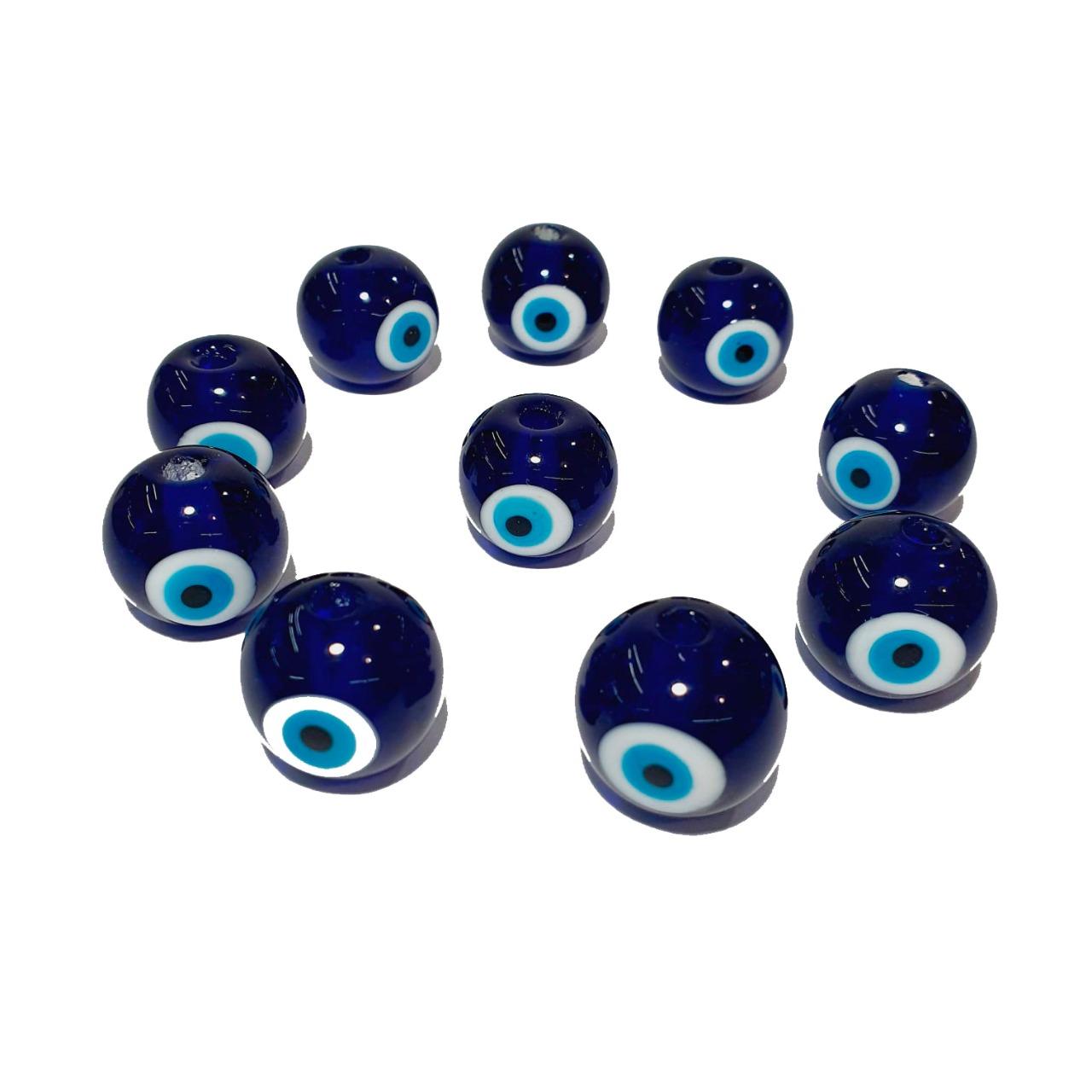 Olho Grego de Murano Bola Azulão