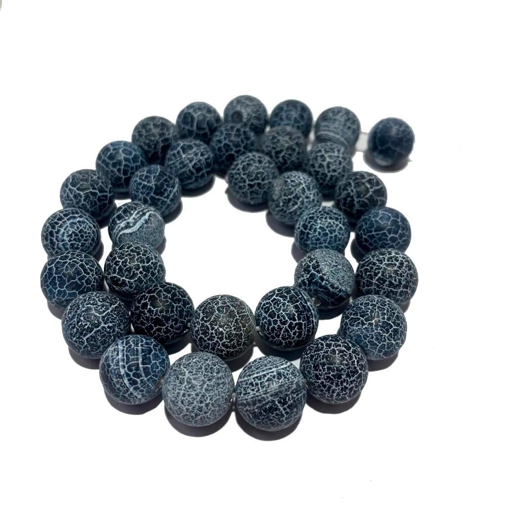Pedra Natural Agatha Azul Craquelada