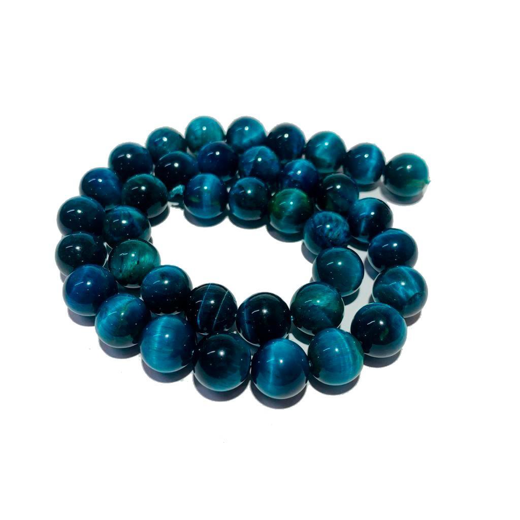 Pedra Natural Olho de Tigre Azul Celeste