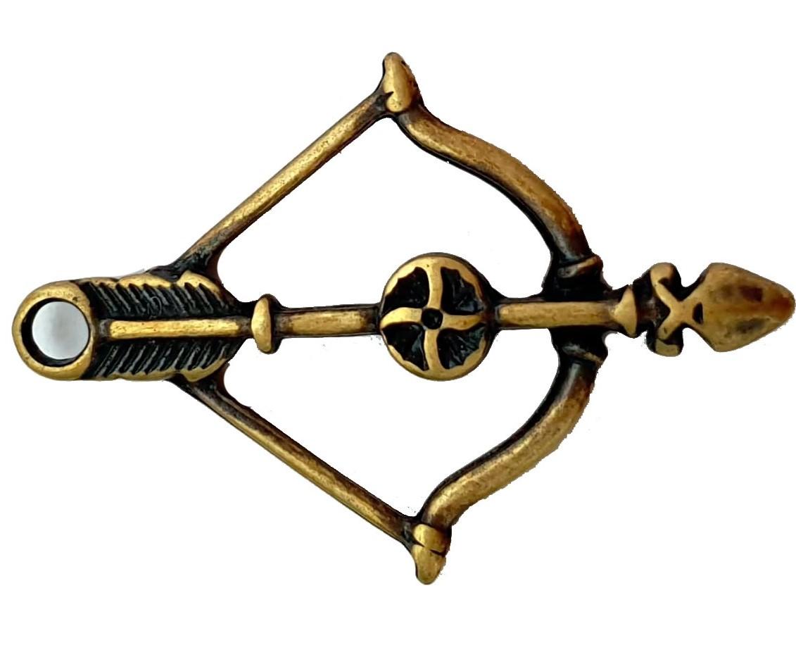 Pingente de Arco e Flecha