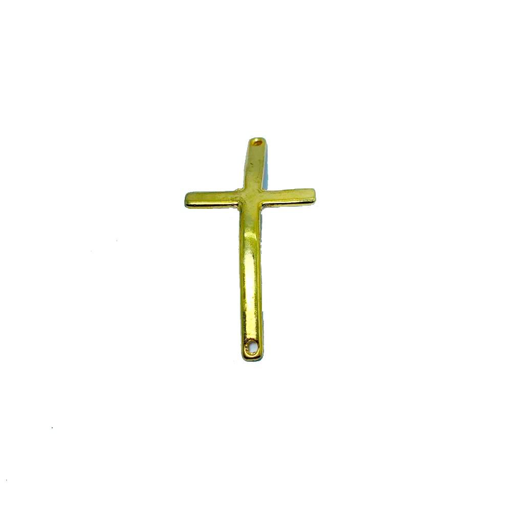 Pingente de Crucifixo Curvado Liso