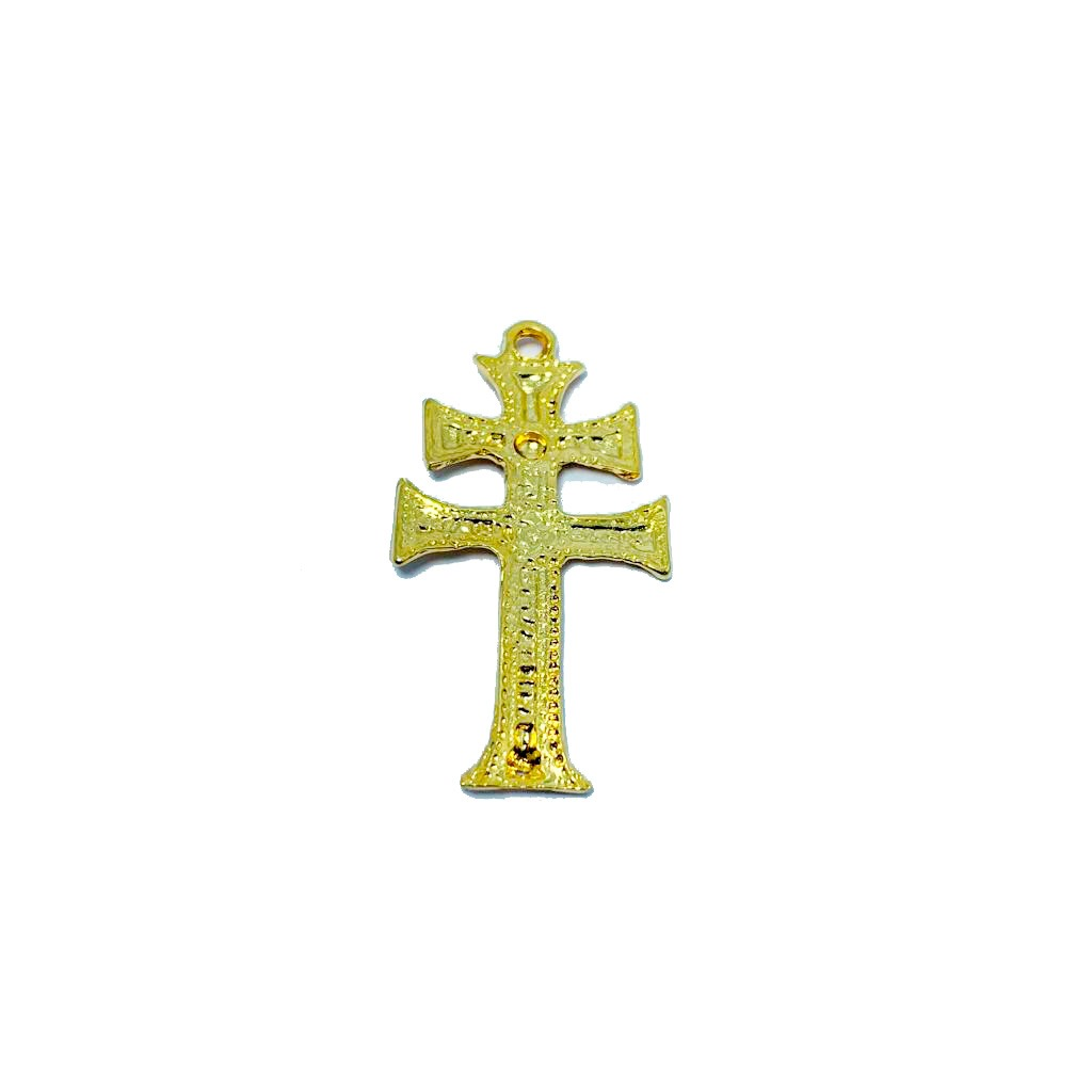 Pingente de Crucifixo de Caravaca