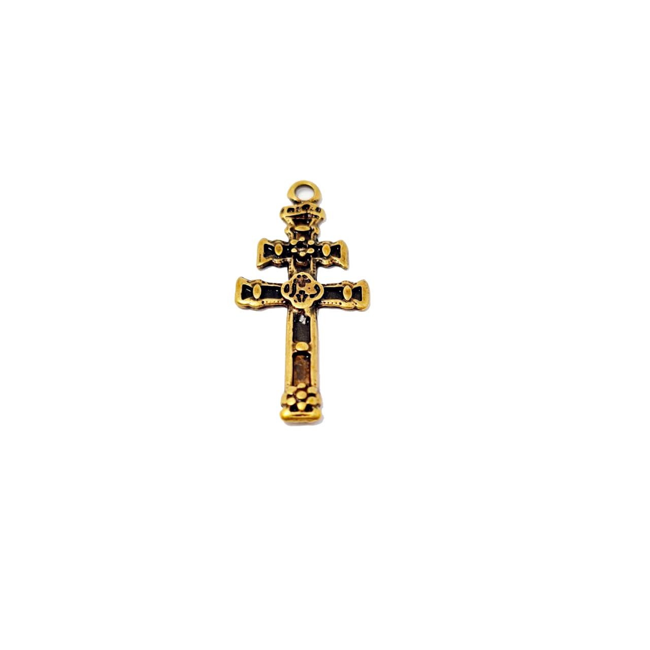Pingente de Crucifixo de Caravaca Pequeno