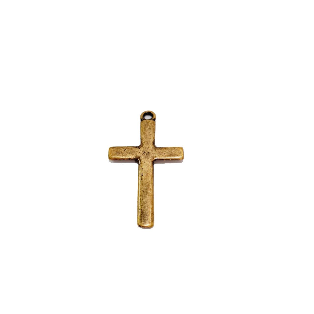 Pingente de Crucifixo Liso Médio