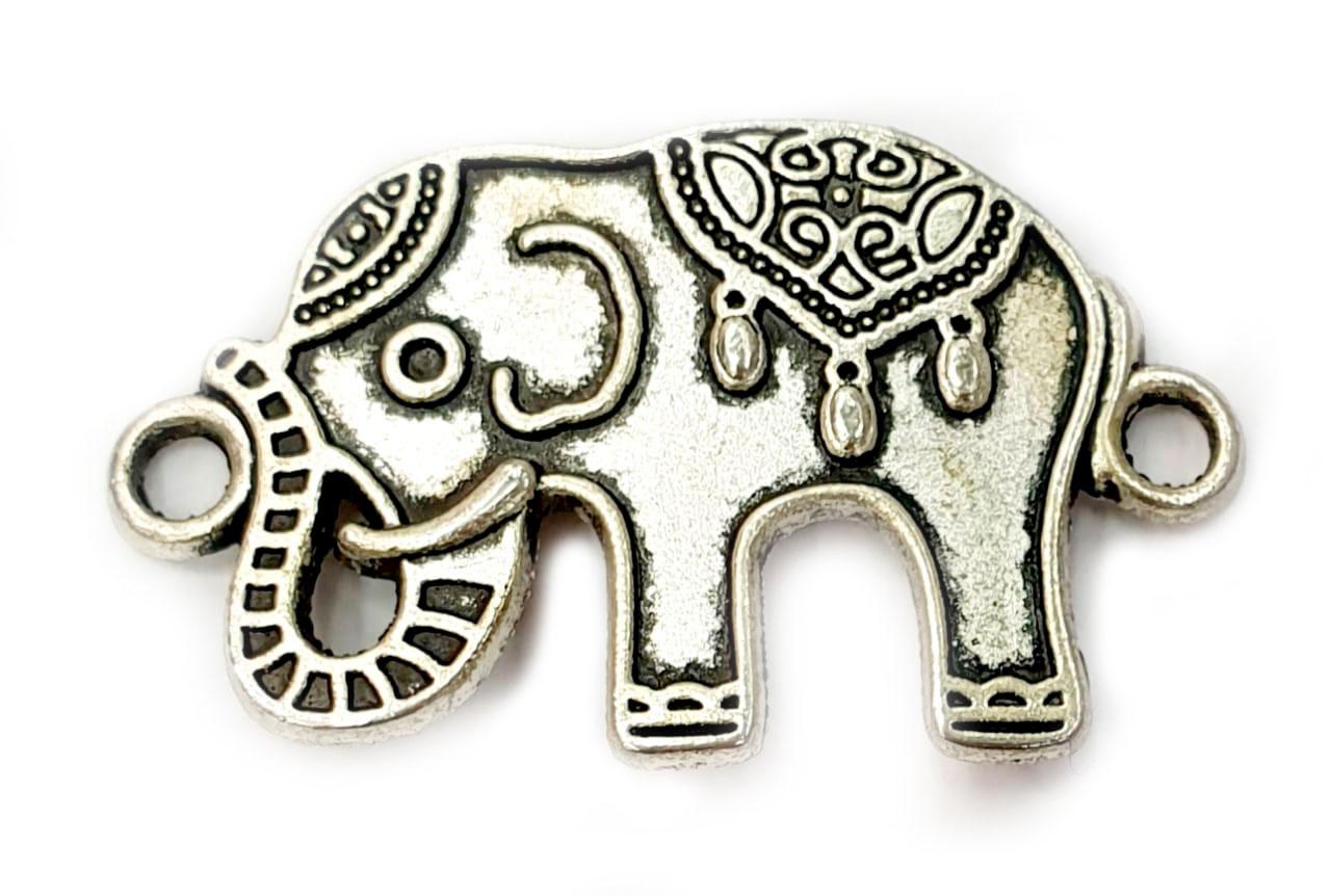 Pingente de Elefante com 2 Elos