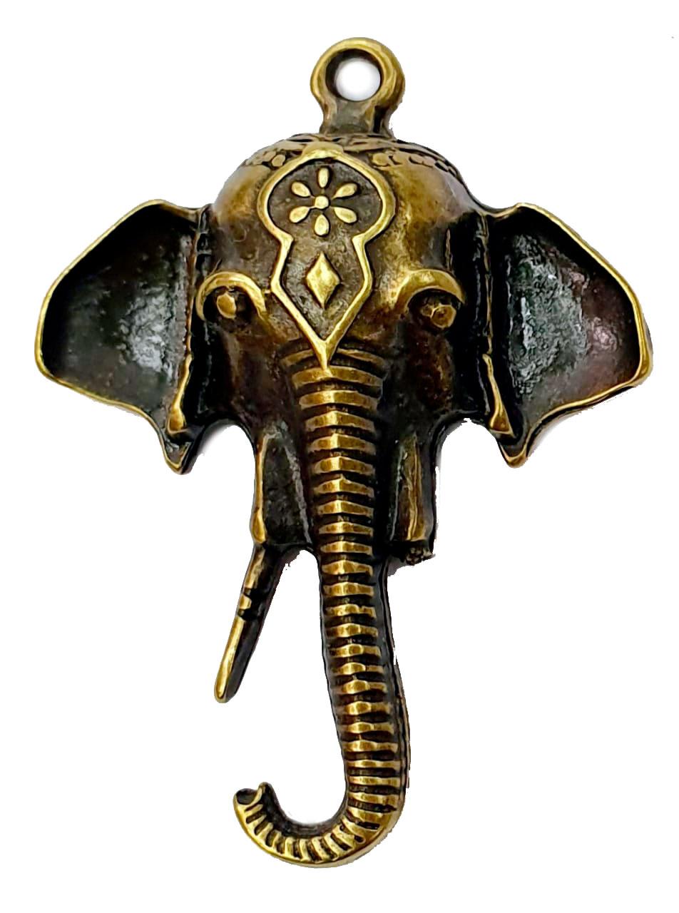 Pingente de Elefante Tromba Grande