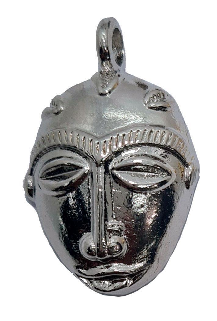 Pingente de Máscara Africana