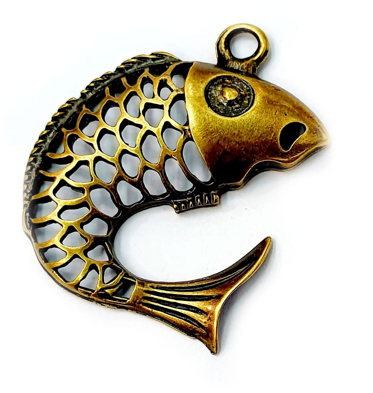Pingente de Peixe Carpa