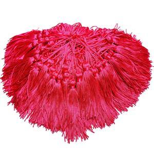 Pingente de Seda - Tassel Rosa Bebê/ Rosa Chiclete / Pink
