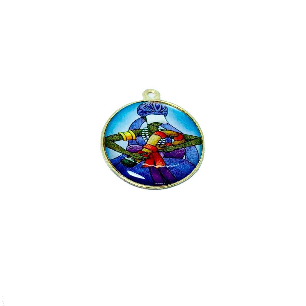 Pingente Medalha de Nanã