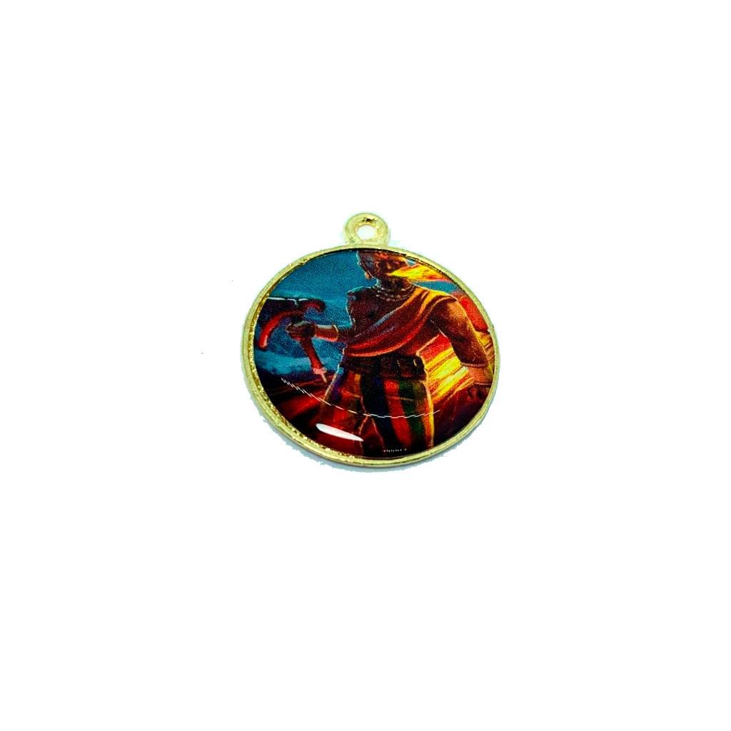 Pingente Medalha de Xango