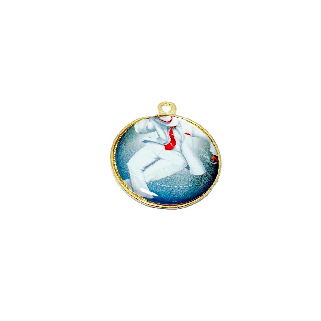 Pingente Medalha de Zé Pilintra