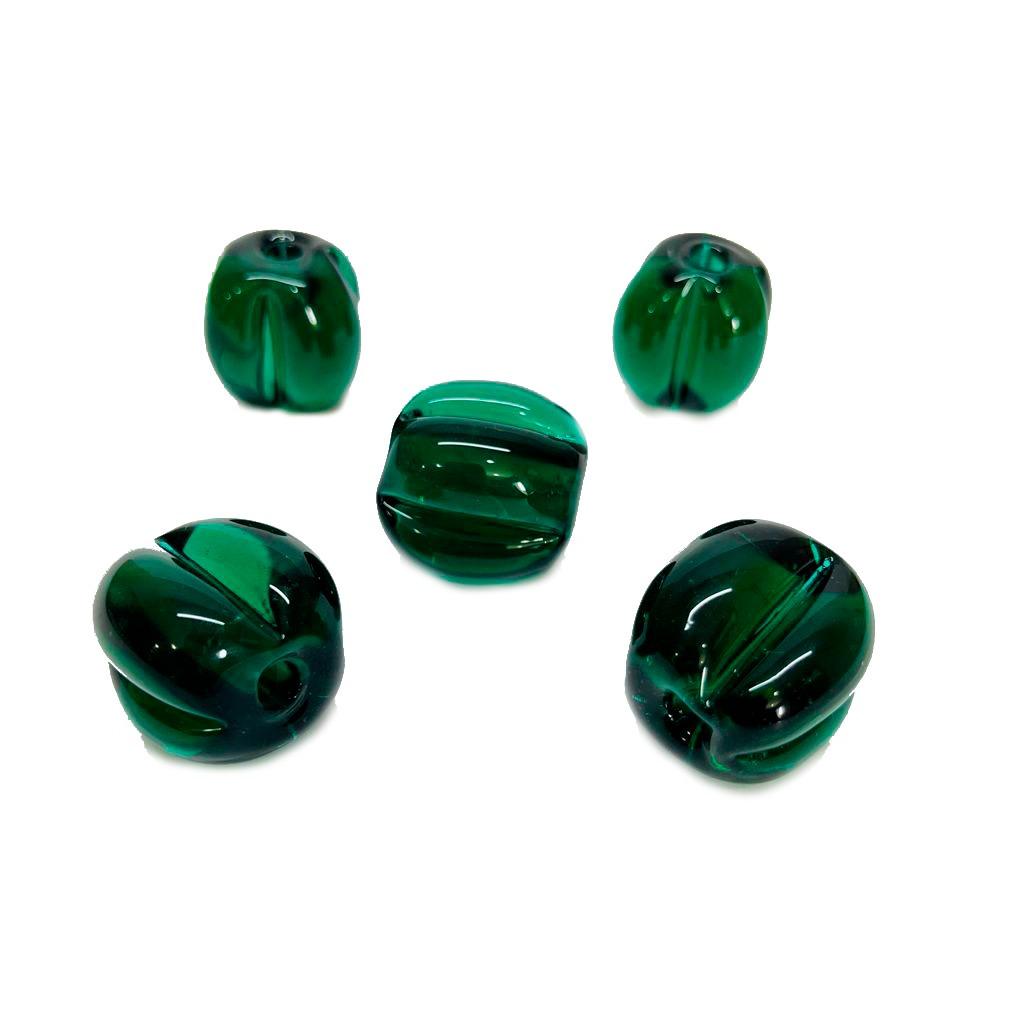 Pitanga de Murano GG Verde Esmeralda