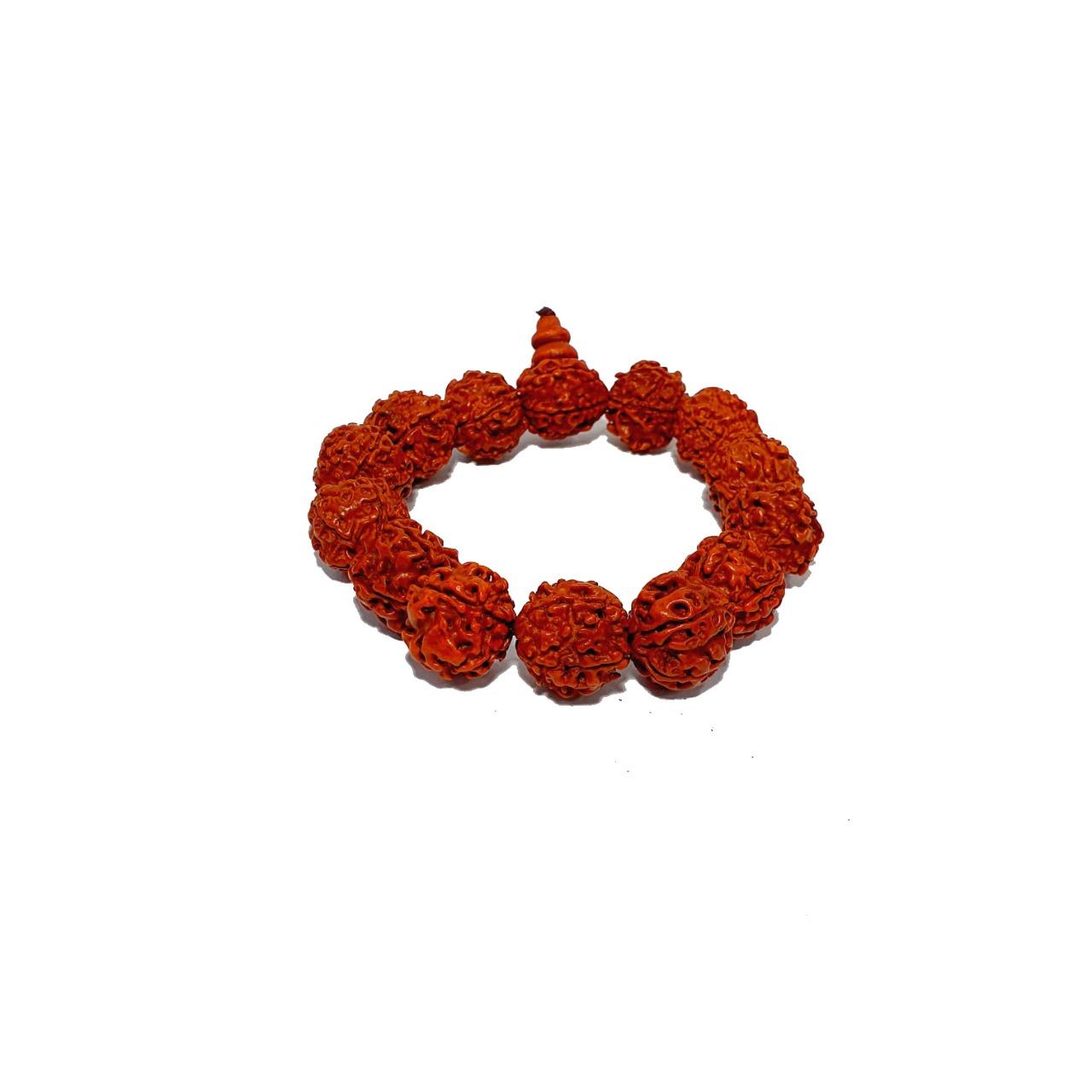 Pulseira Semente de Rudraksha