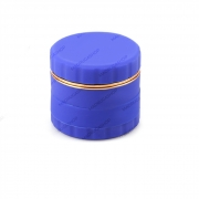 Dichavador de Metal e Silicone Grande - Azul