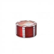 Dichavador de Metal Poker Chips - Vermelho´