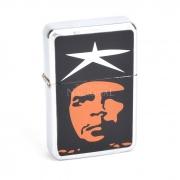 Isqueiro Star Cromado - Che Guevara 5 (1 Face)