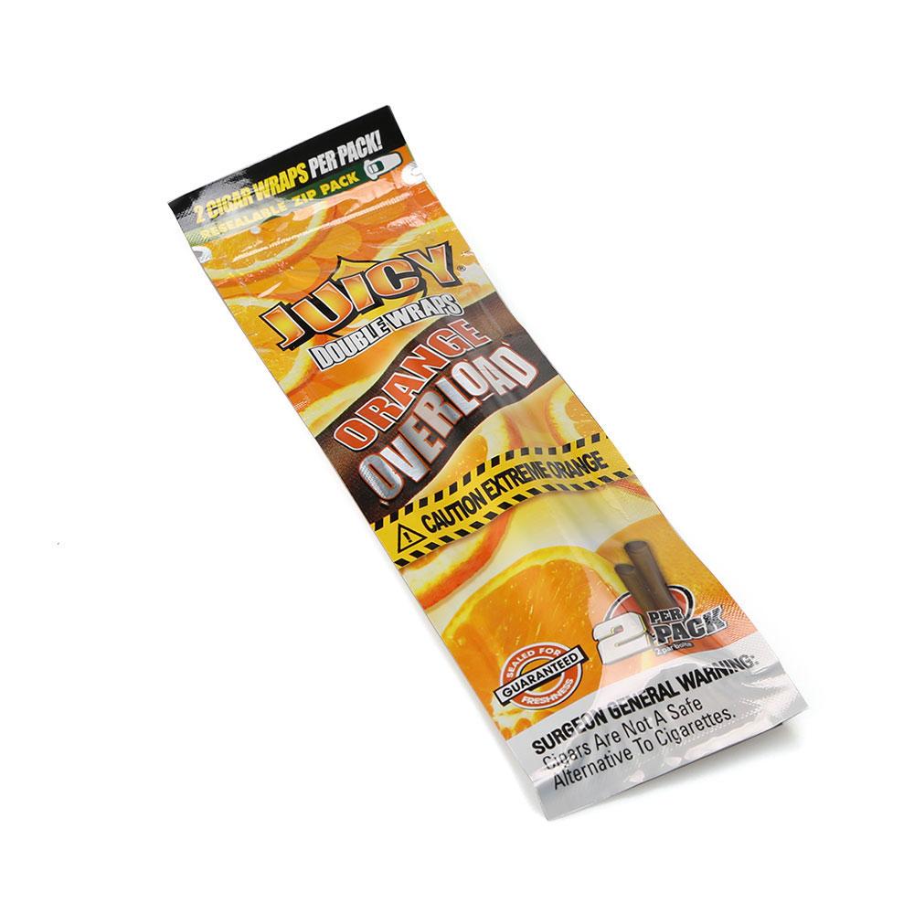 Blunt Juicy Wrap Laranja - Caixa com 25