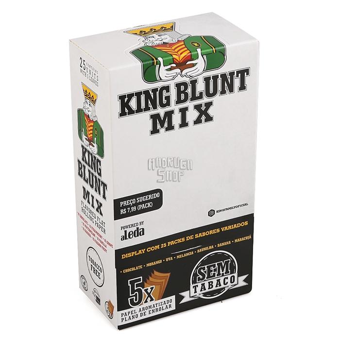 Blunt King Mix (Sem Tabaco) - Caixa com 25
