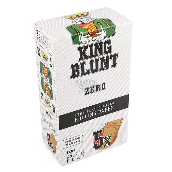 Blunt King Zero - Caixa com 25