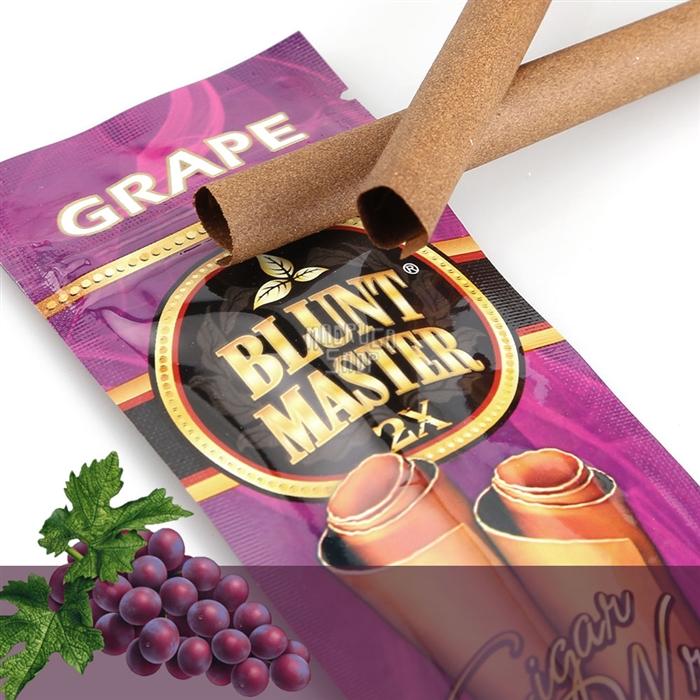Blunt Master Uva - Pacote com 2