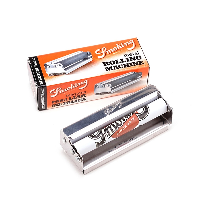 Bolador de Cigarro de Metal Smoking 1 e 1/4 (78mm)