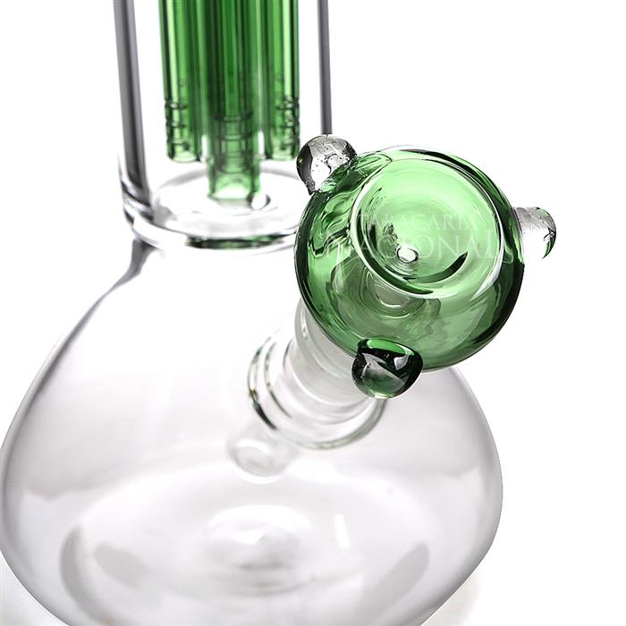 Bong de Vidro Ice Ganesh (Percolator) HH1036 - Verde