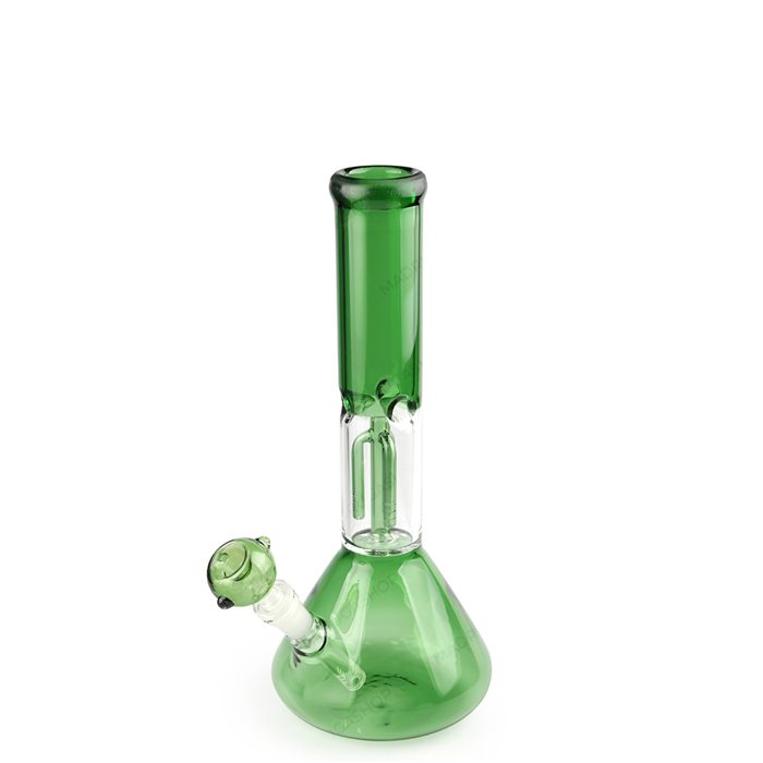 Bong de Vidro Ice Ganesh (Percolator) HH1048 - Verde