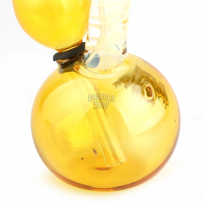 Bong de vidro Pequeno Ultra 420 - Amarelo