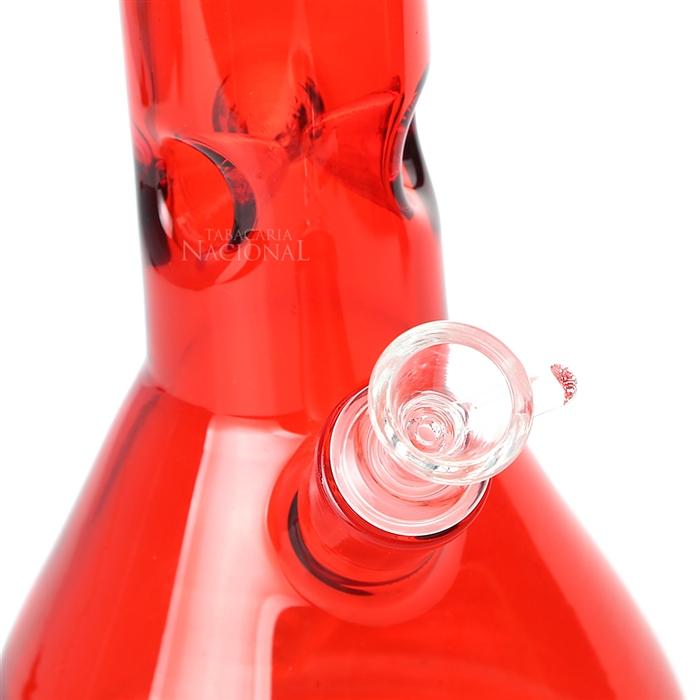Bong de Vidro Ultra420 Prisma - Vermelho