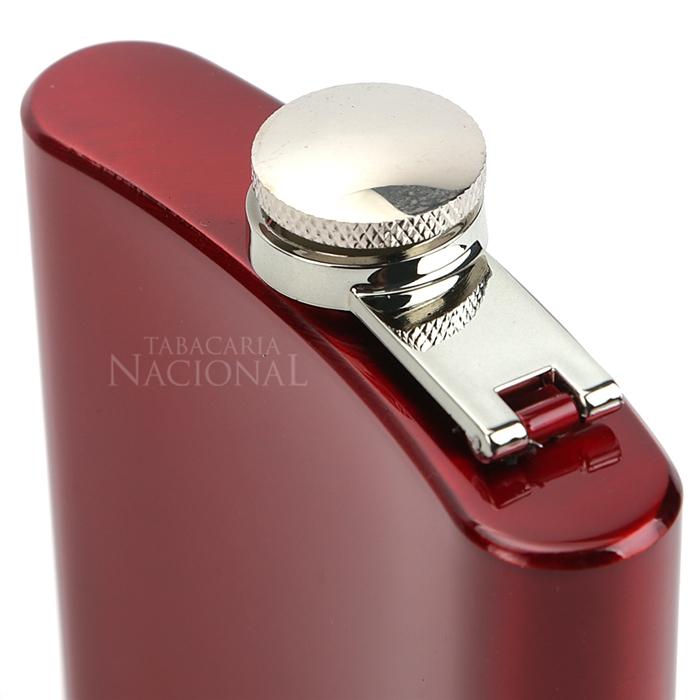 Cantil em Aço Inox - Vermelho (6oz)