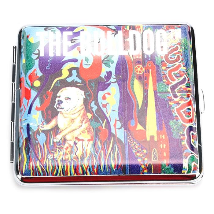 Cigarreira de Metal - The Bulldog Colors