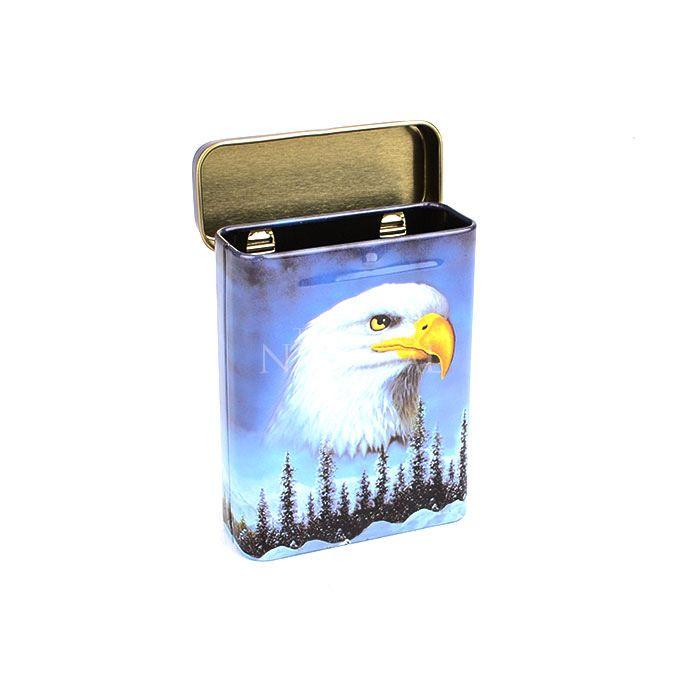 Cigarreira de Metal (Tin Case) - Águia