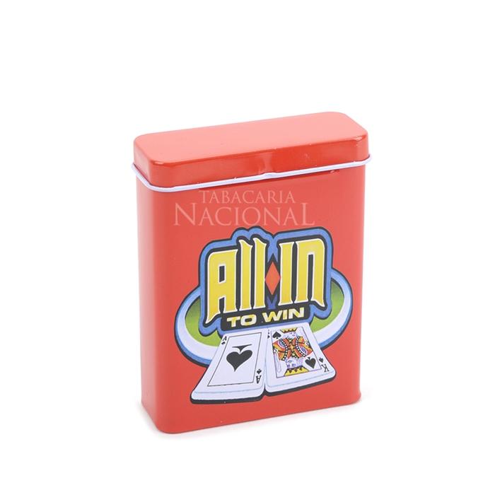 Cigarreira de Metal (Tin Case) - All-in