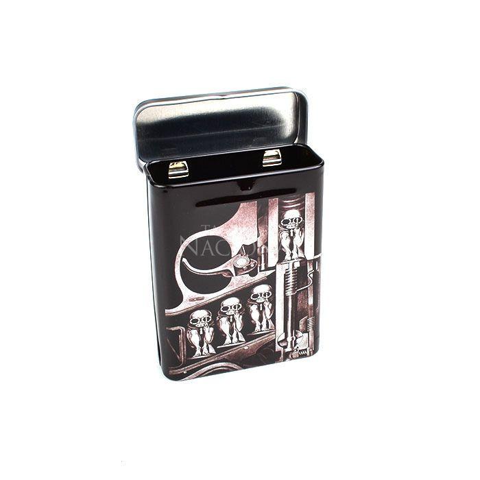 Cigarreira de Metal (Tin Case) - Army