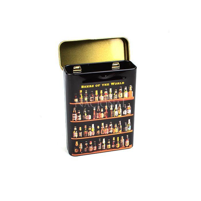 Cigarreira de Metal (Tin Case) - Beers