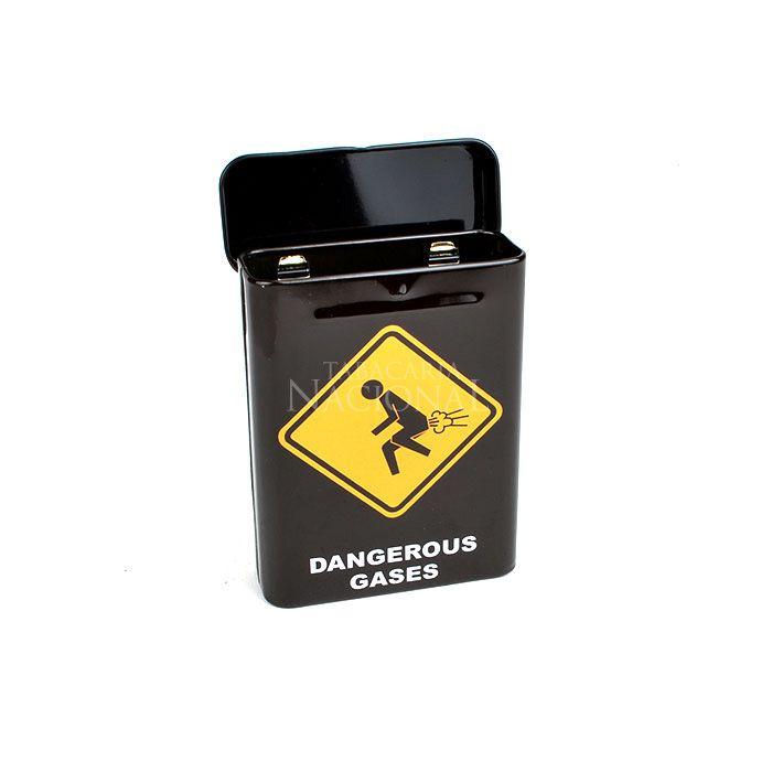 Cigarreira de Metal (Tin Case) - Dangerous Gases