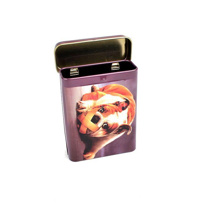 Cigarreira de Metal (Tin Case) - Dog Gagged
