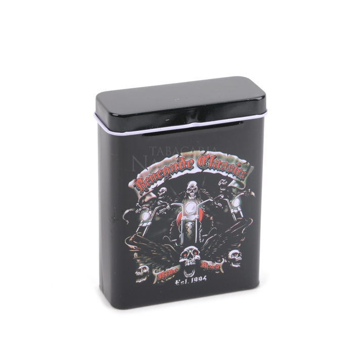 Cigarreira de Metal (Tin Case) - Renegade Mod. 02