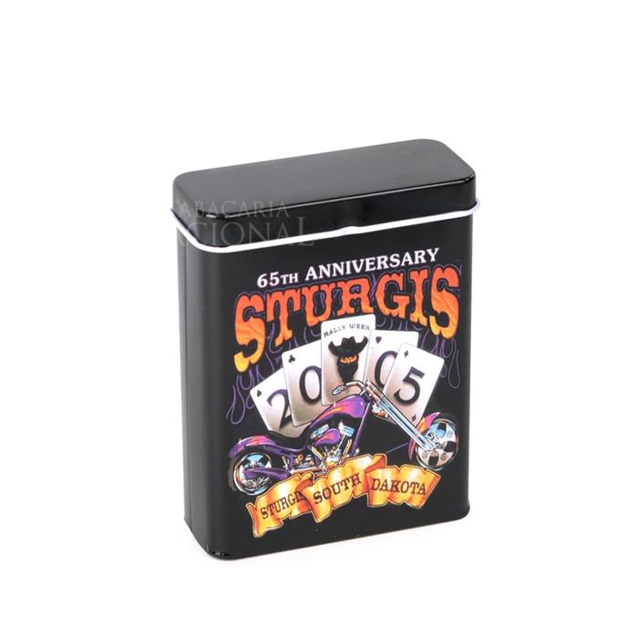 Cigarreira de Metal (Tin Case) - Sturgis
