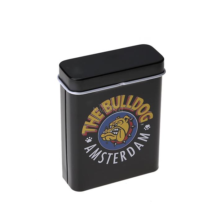 Cigarreira de Metal (Tin Case) - The Bulldog